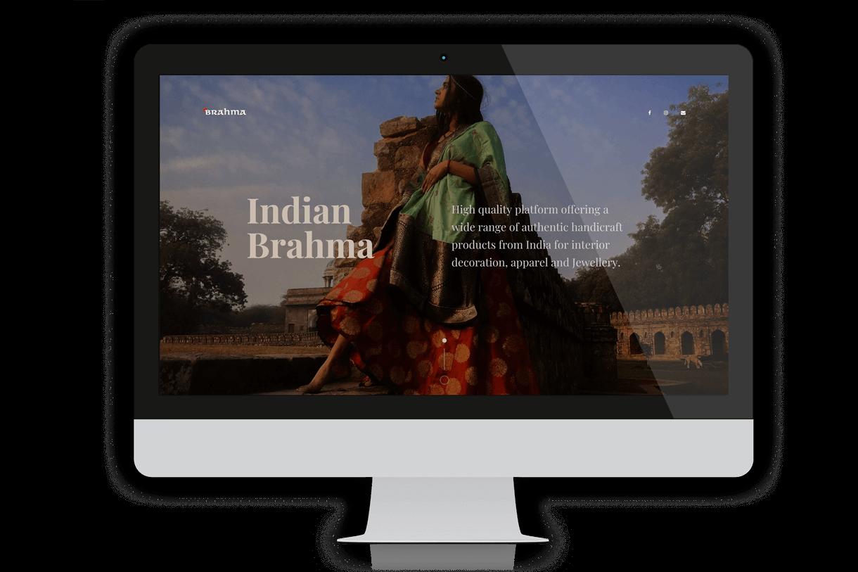 indianbrahma.com home | Futurum Studio